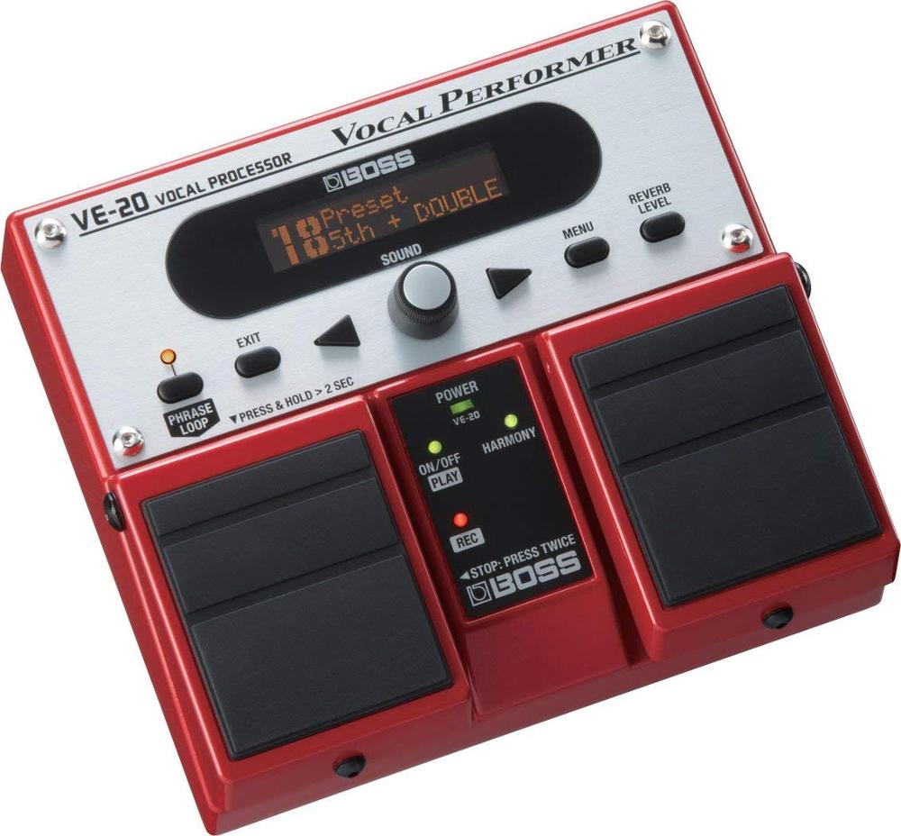 Boss Ve-20 Vocal Performer Multifunction Pedal, Acoustic Echo Portable Effect Processor