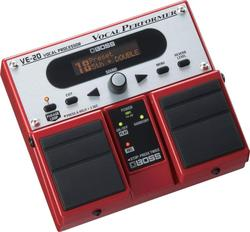 Boss ve-20 vocal performer multifunktions pedal, akustische echo tragbare wirkung prozessor