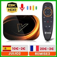 VONTAR X3 טלוויזיה תיבת 8K מקסימום 4GB 128GB אנדרואיד 9 9.0 Amlogic S905X3 TVBox 32GB 64GB ROM 1000M הכפול Wifi 4K 60fps Youtube ממיר