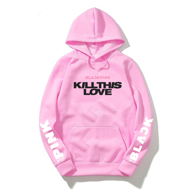 BLACKPINK KILL THIS LOVE THEMED HOODIE (10 VARIAN)
