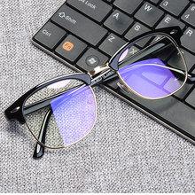 Женские очки с защитой от синих лучей, Мужские квадратные очки для компьютера, защита оправы, синий светильник, блокировка, унисекс, рабочие очки