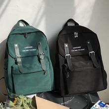 School Backpack Shoulder-Bag Teenager Nylon Large Waterproof New-Trend Student Women