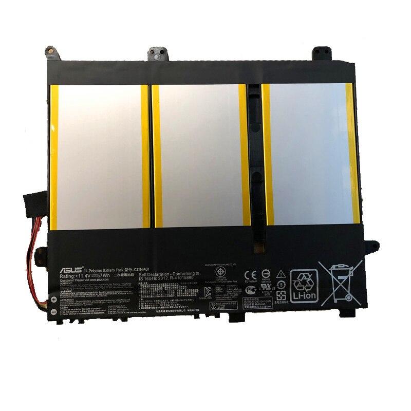 Original Battery For Asus EeeBook E403S E403SA E403NA E403N Laptop Battery C31N1431