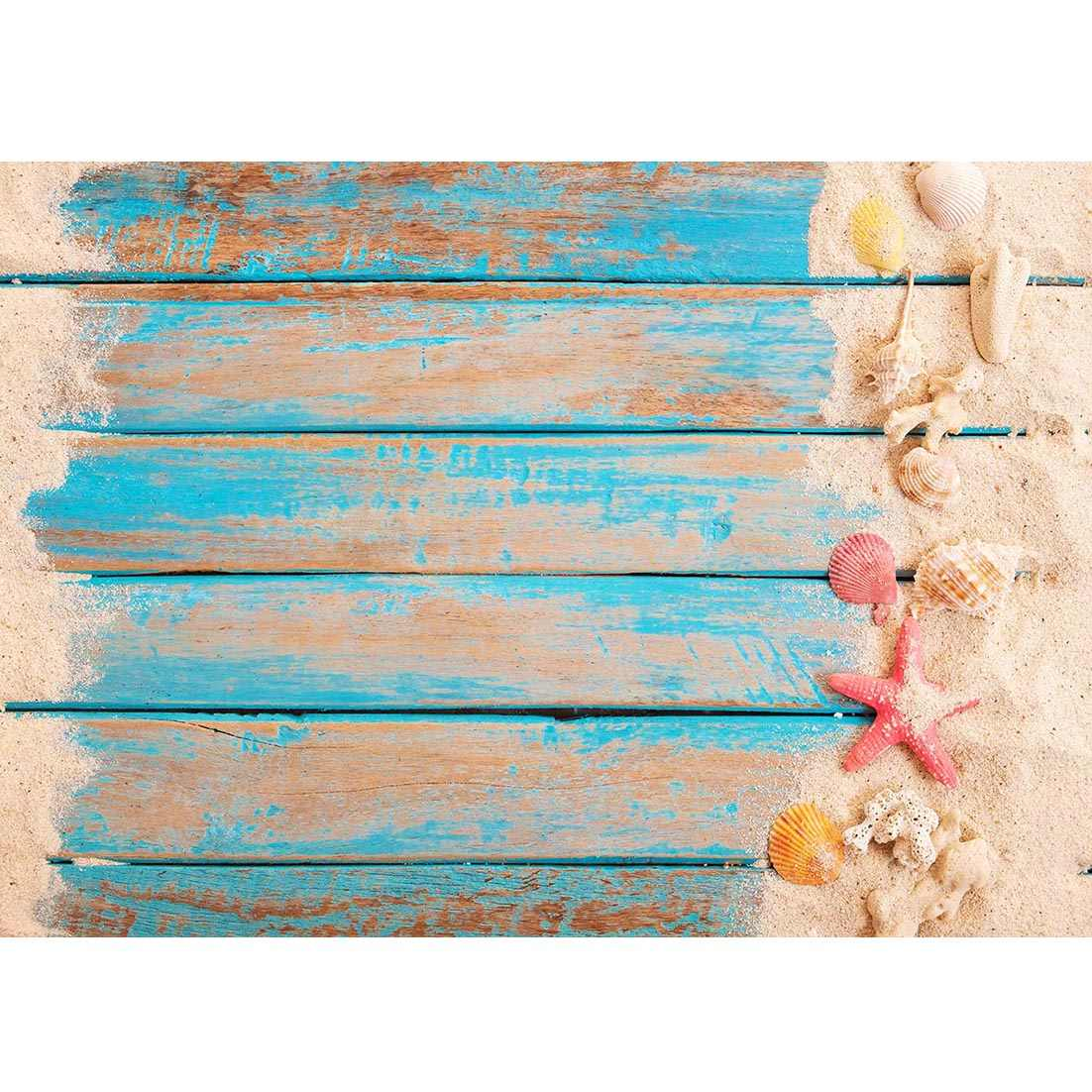 Guirnalda de flores en flor en el suelo de madera telón de fondo decoración Baby Shower recién nacido retrato fotografía fondo para accesorios de estudio fotográfico