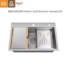 MenSARJOR многофункциональная кухонная композитная ручная оболочка 50л корпус из нержавеющей стали
