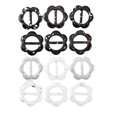 Clips-Rings Cape T-Shirts Fastener Buckles Buttons Scarf Shawl Decorations Crafts DIY