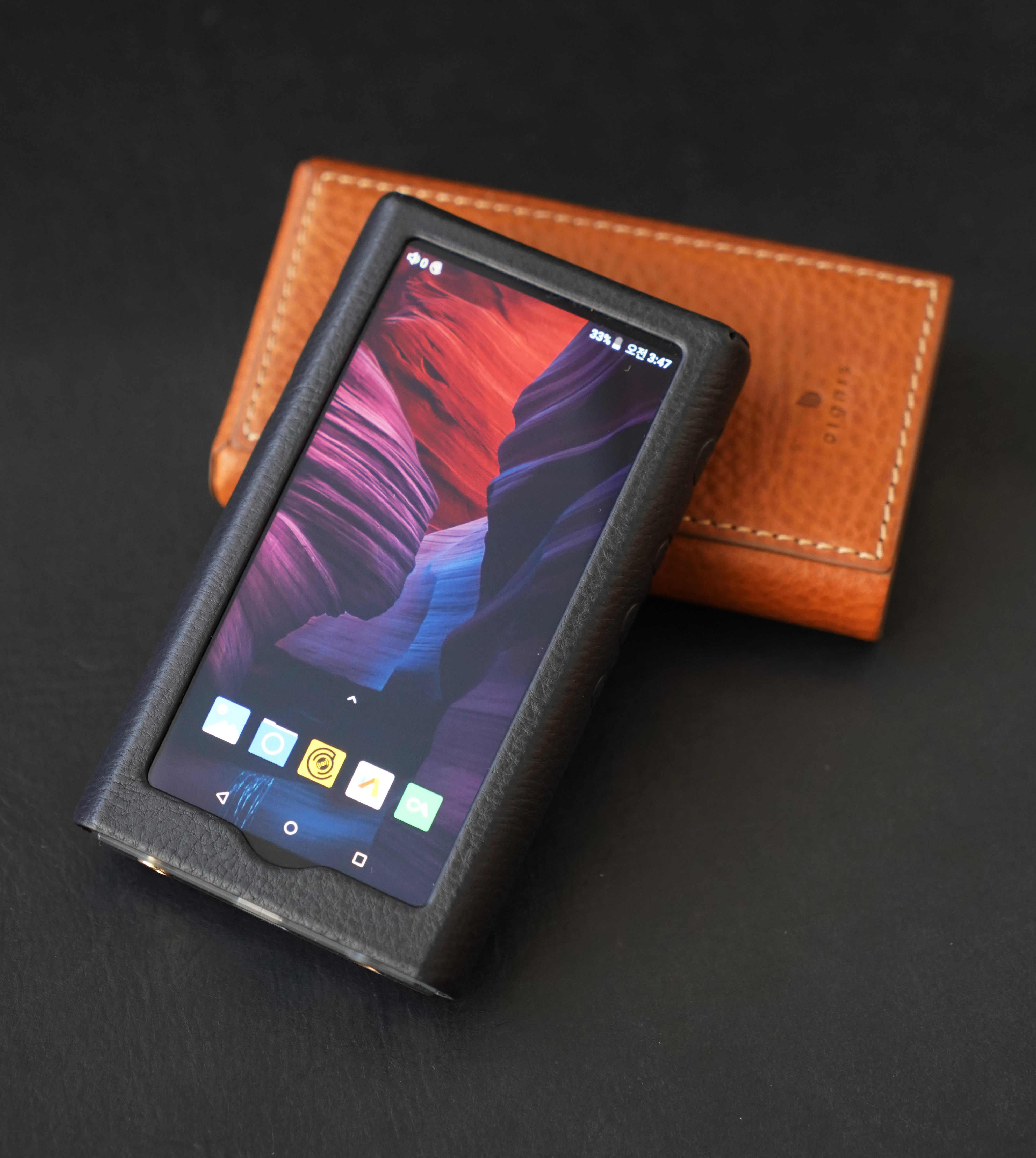 Dignis deri kılıf HiBy R5 yüksek çözünürlüklü ses taşınabilir oyuncu yüksek çözünürlüklü müzik çalar Bluetooth MP3 çalar HiFi