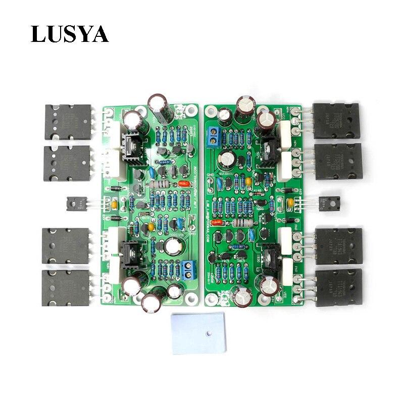 Плата усилителя звука Lusya L20 SE aeas C5200, 2 канала, 350 Вт, 4 Ом, 2 шт.