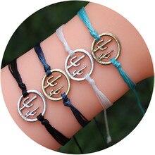 Bohemia Plant Rope Chain Bracelet For Women Handmade Weave Colorful Adjustable Bracelets Pulseras Mujer Tassel Jewelry kpop ss501 kim hyun joong silicon bracelets luminous bracelet wristband pulseras 19278