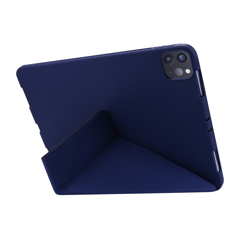 For 2020 iPad Pro 11 inch Case PU Leather Soft Silicone Back Magnetic Smart Cover for
