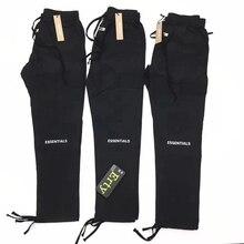 2019 Fog ESSENTIALS Logo Embroidery Women Men Pocket Track Pants