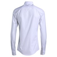 High Quality Mens Formal Dress Shirts New Eyes Embroidery Cotton Office Man Shit Spring Long Sleeve Slim Fit Tops Male Plus Size