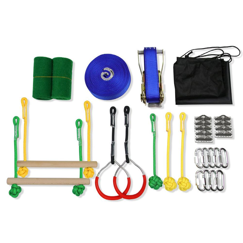 Ninja guerreiro linha de obstáculo kit slackline