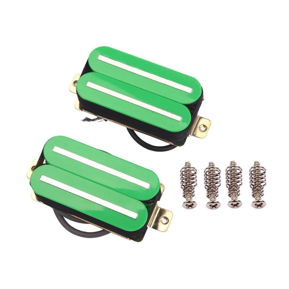 2 uds alta salida Hot Rail doble Humbucker kits de pastilla para guitarra eléctrica