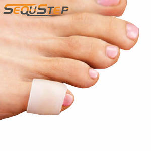 4 Pcs Insoles Silicone Gel Little Toe Tube Corns Blisters Pinkie Protector Gel Bunion Toe Protection Gel Sleeve Shoes Pad