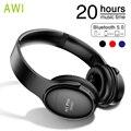 Bluetooth Kopfhörer Wireless Headset Faltbare Über ohr Noise Cancelling Gaming Stereo Kopfhörer mit Mic für Telefon PC Mp3 Musik-in Handy-Ohrhörer und Kopfhörer Bluetooth aus Verbraucherelektronik bei