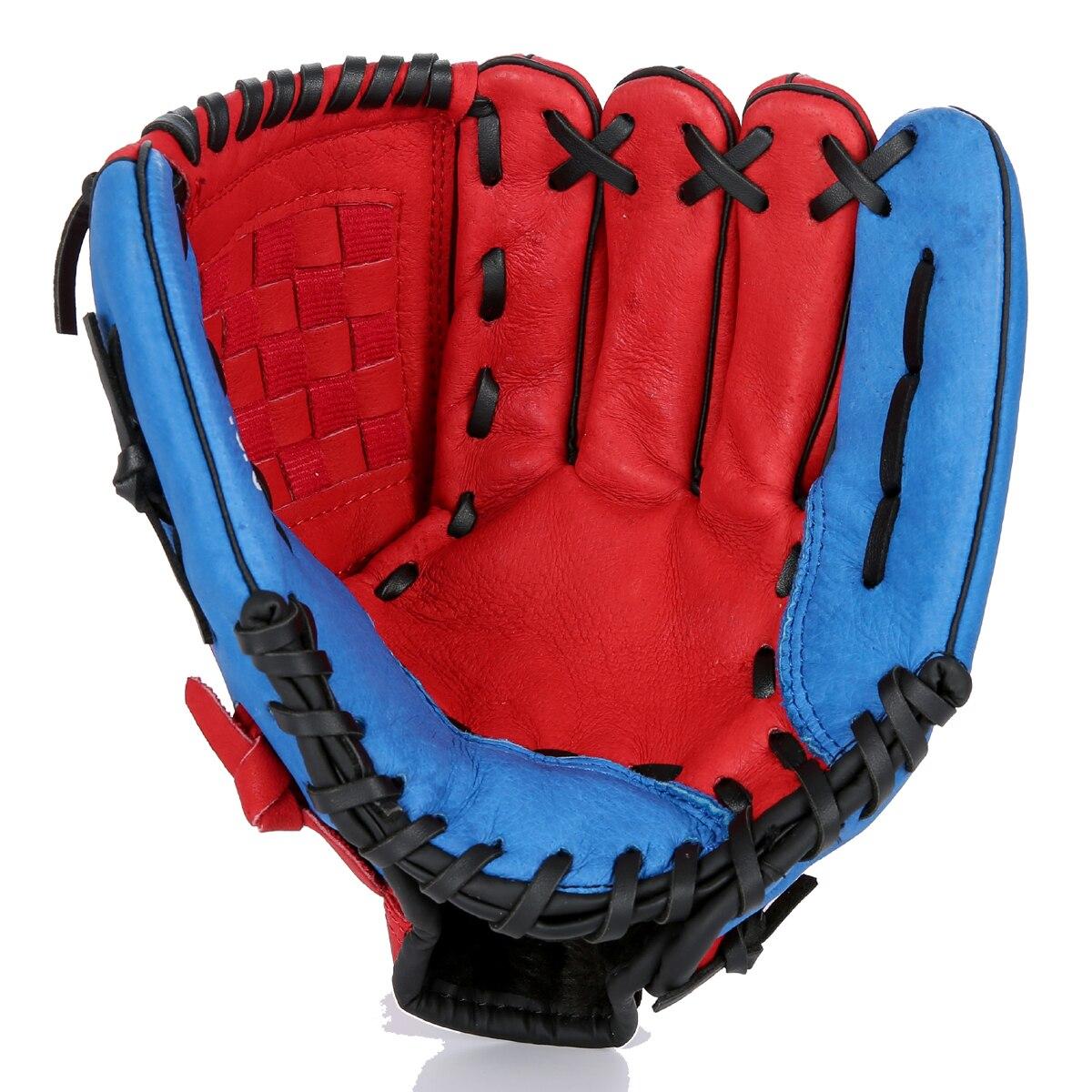 Baseball Batting Gloves Men Kids Leather Right Baseball Glove Softball Practice Hand Beisbolera Sports Entertainment BJ50ST