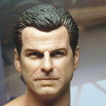 1/6 весы голова скульптура Пирс бронань агент 007 в наличии