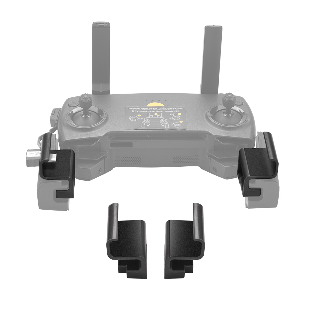 Portable Widen Phone Holder For DJI Mavic Mini Accessories Clip Mount Phone Holder Stand Bracket For DJI Mavic 2 Pro Zoom Drone