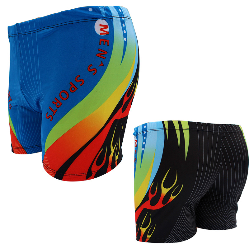 New Style Swimming Trunks Men AussieBum Fashion Models Loose-Fit Quick-Dry Men Hot Springs Swimming Trunks