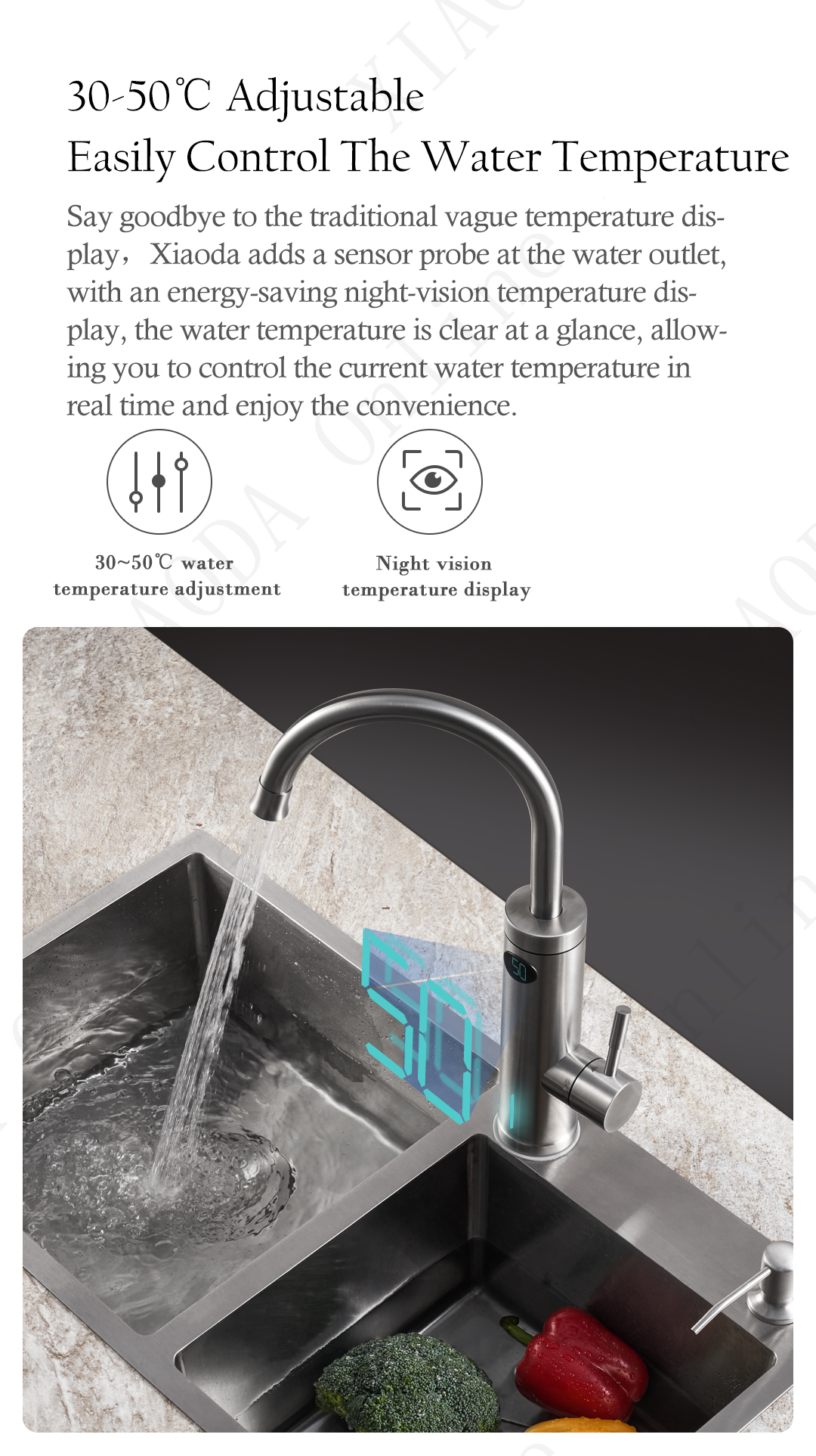 Xiaoda integrated Instant hot water faucet