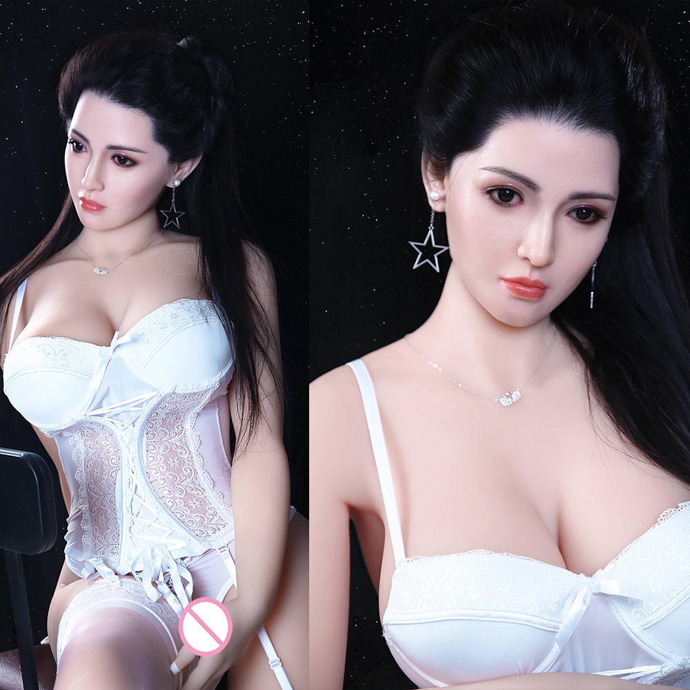<font><b>166cm</b></font> Lifelike Real <font><b>Sex</b></font> <font><b>Doll</b></font> Full Size Silicone with Skeleton Love <font><b>Doll</b></font> Oral Vagina Pussy Anal Adult <font><b>Doll</b></font> Silicone <font><b>Sex</b></font> <font><b>Dolls</b></font> image