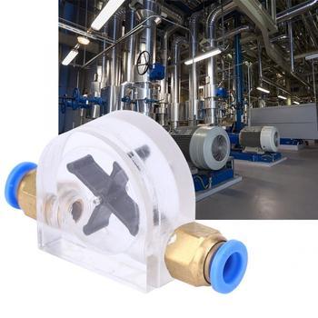 8mm ze stali nierdzewnej miernik przepływu maszyna do grawerowania chłodzony wodą wskaźnik przepływu dla głównego wrzeciona chłodzenia silnika drogi wodnej przepływu wody tanie i dobre opinie VBESTLIFE Hydraulika