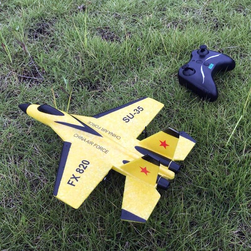 RC avions télécommandés avions volant modèle mousse planeur EPP jouet bulle résistant aux chutes artisanat extérieur RTF queue poussoir Flyer 2