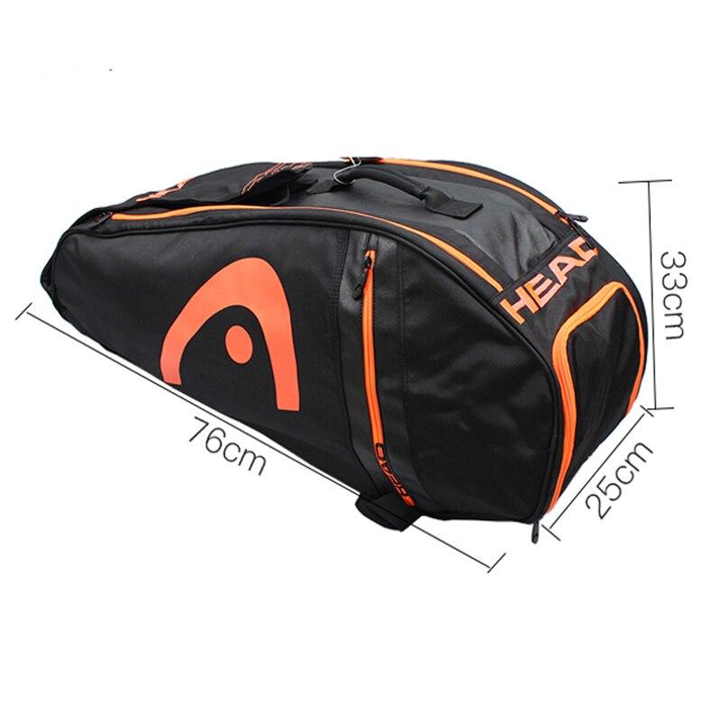 UNICALLING, роскошная сумка для фитнеса из натуральной кожи, большая вместительность, Стильная Спортивная кожаная сумка для спортзала, рюкзак, м... - 4