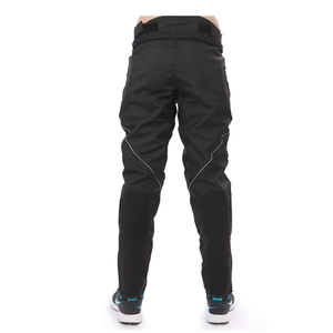 Image 2 - DUHAN Motorcycle Pants Men Motocross Pants Windproof Motorcycle Trousers Motocross Riding Pants With Removable Protector Guards