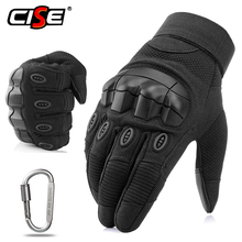 Touchscreen Motorcycle Rubber Hard Knuckle Full Finger Gloves Protective Gear Driving Motocross Motorbikes Cycling Racing Riding цена