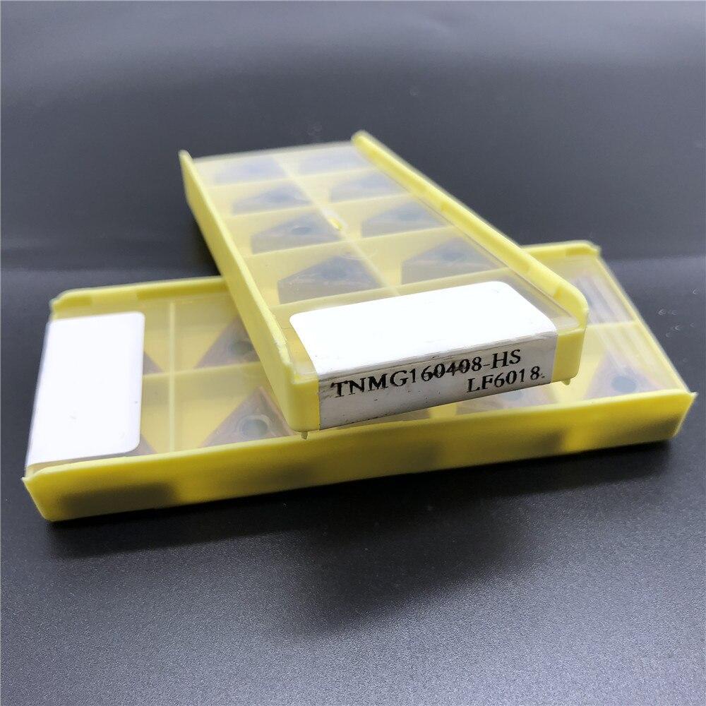 Carboneto de Inserção para Aço Pces Torneamento Ferramenta Inoxidável Ferro Fundido 10 Tnmg160408-hs Lf6018 Tnmg332