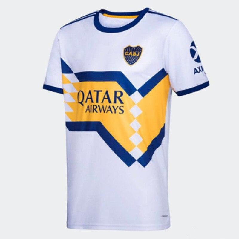 2020 2021 Boca Juniors Soccer Jersey Home Away 20 21 Boca Juniors TEVEZ MARADONA MOURA ABILA REYNOSO DE ROSSI Football Shirt
