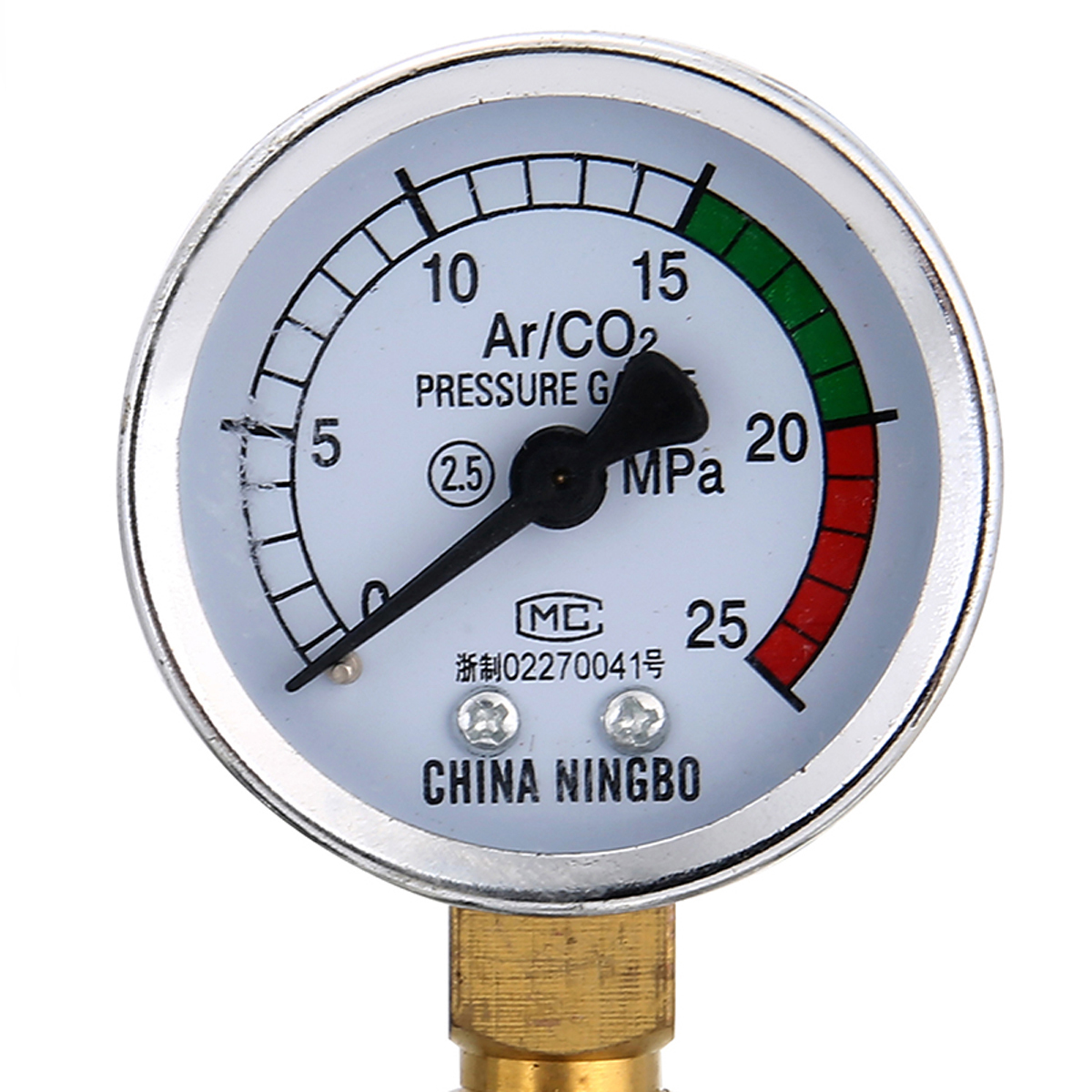 0 25Mpa Argon Regulator CO2 Mig Tig Flow Meter Gas Regulator Flowmeter Welding Weld Gauge Argon Regulator Pressure Reducer in Pressure Regulators from Tools