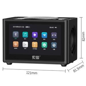 Image 3 - ใหม่มาถึงวิดีโอลำโพงบลูทูธแบบพกพา Mini Wireless 3D ซับวูฟเฟอร์บ้านวิทยุ HD รถลำโพงคอมพิวเตอร์สนับสนุน TF FM USB
