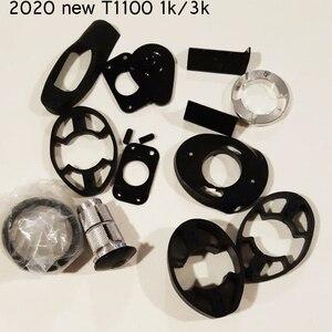 2020 Nieuwe Carbon Road Frame T1100 1 K/3 K Carbon Fiets Frame Met Stuur DCRF12