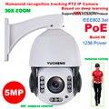 SONY IMX 335 20X ZOOM 5MP 4MP 25fps PoE люди гуманоидное распознавание wifi PTZ скорость купольная IP камера наблюдения
