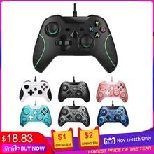 USB 유선 컨트롤러 Controle For Microsoft Xbox One 컨트롤러 Gamepad For Xbox One 슬림 PC Windows Mando For Xbox one 조이스틱