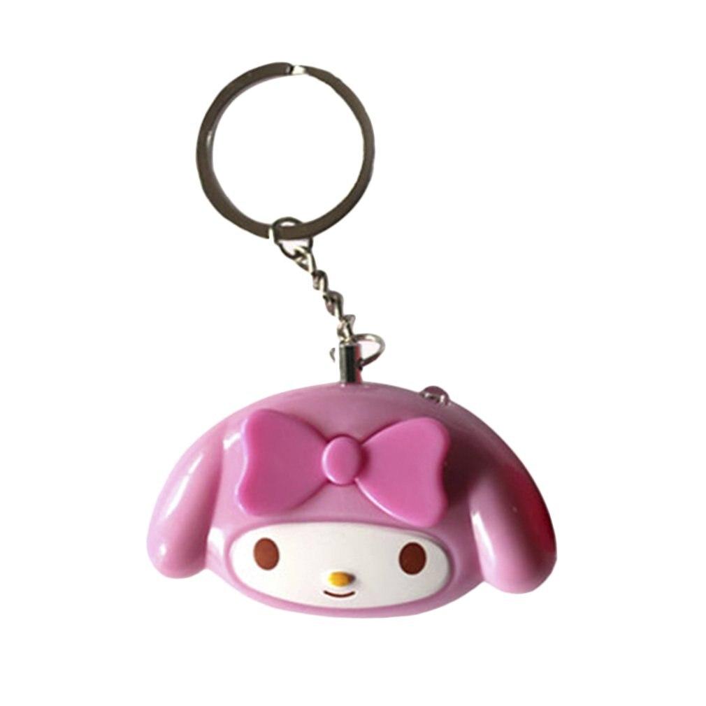Cute Mini Self Defense Alarm 120dB Super Loud Personal Security Anti-Attack Emergency Alarm Keyring For Women Kids Autodefensa