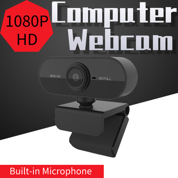 1920*1080 3MP USB Web Camera 1080P HD Computer Camera Webcams Built-In Sound-Absorbing Microphone In Stock Ship Within 2​4 Hours image