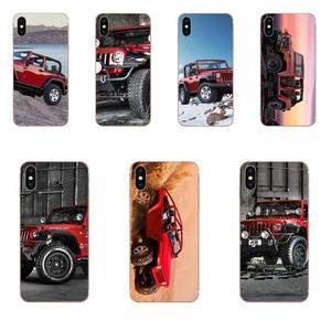 Red Jeep Wrangler Suv Sport Hot Selling Fashion Design Cell Case For Samsung Galaxy A71 Note 10 Plus A51 Case A50 A 71 A 51