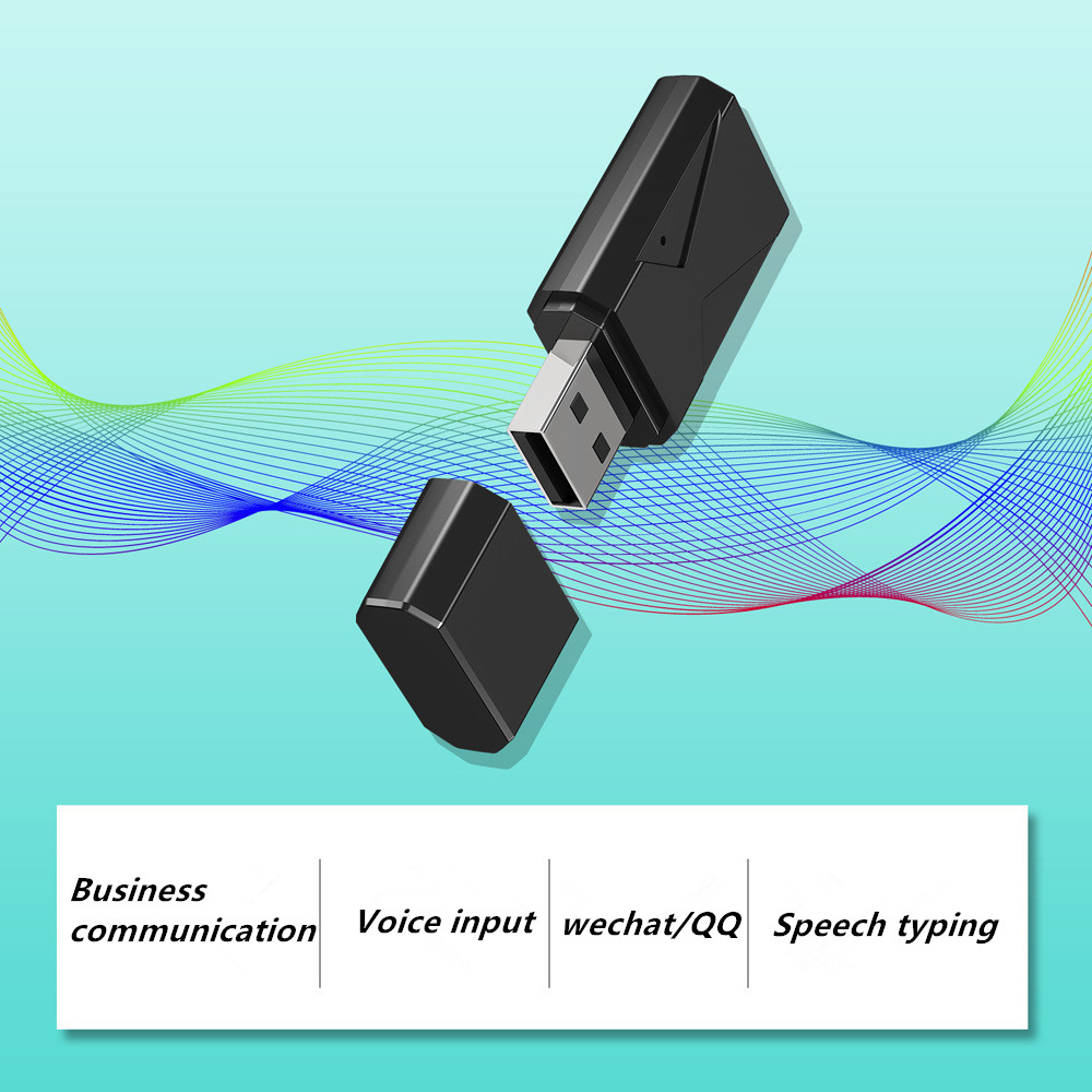 AI Smart Voice Durable USB Translator Speech Recognition Recording to Text Language Translation 28 Language Real-time Supply