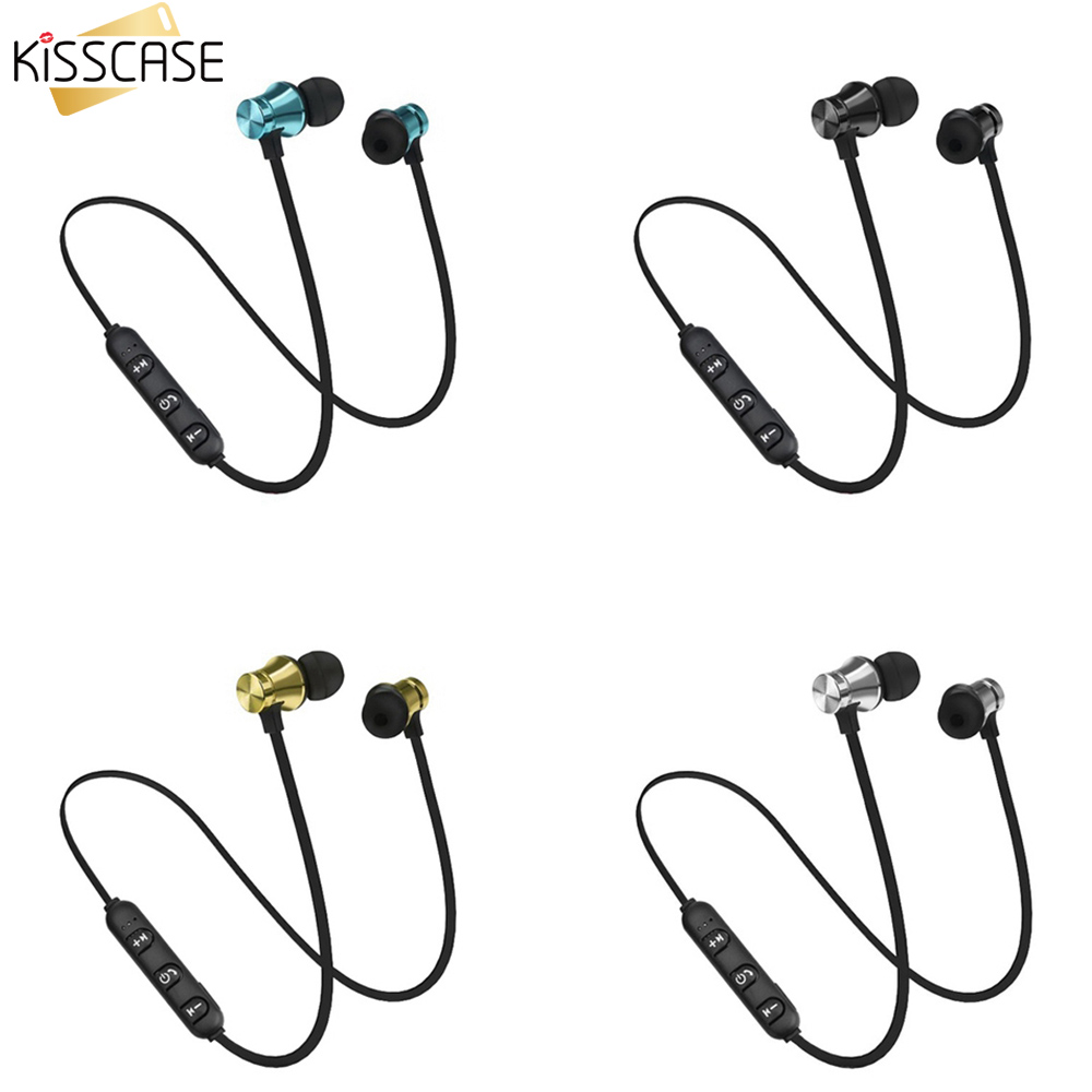 KISSCASE Waterproof Wireless Earphone for Xiaomi 9t A3 Mi 8 SE Magnetic Sports Bluetooth Headset for iPhone 10 X XR Earphones