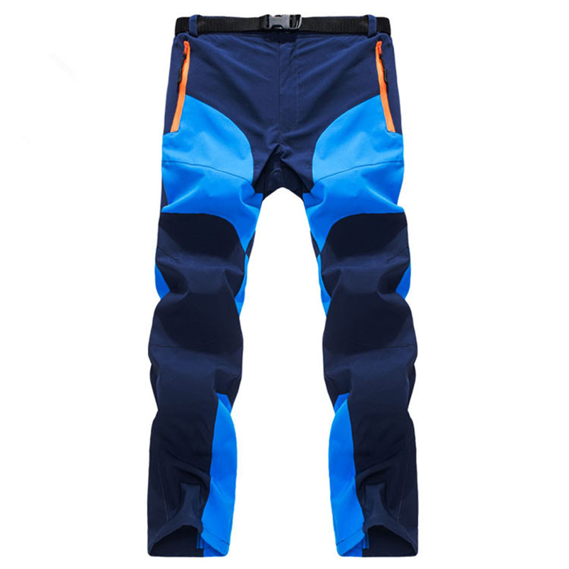 Men's Lightweight Breathable Casual Pants Quick Dry Summer Male Waterproof Tactical Cargo Pants Army Military Style Trousers
