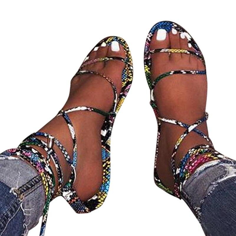 Women Slippers Sexy Cross Strap