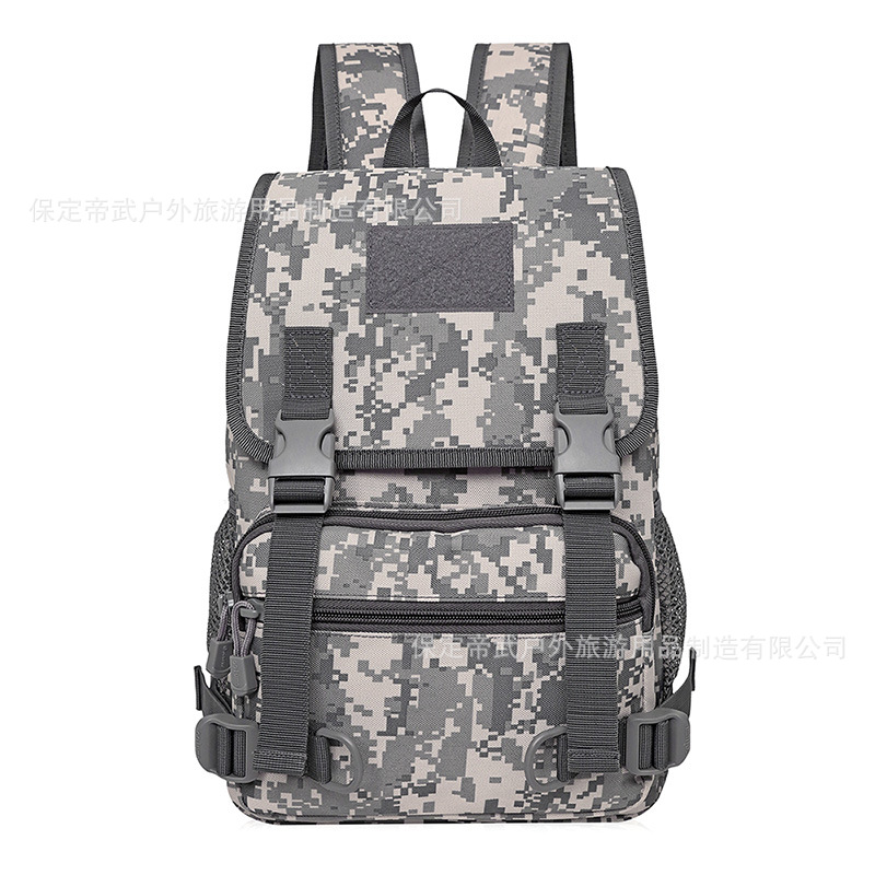 Di Wu Column Customizable-Student Backpack 20 Litres Waterproof Camouflage