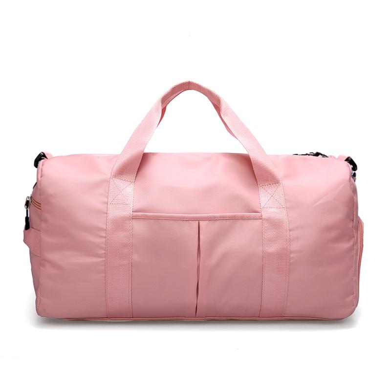 Handbags Sports Gym Bags Women's Yoga Training Packages Wet And Dry Separation Bag Waterproof Swim Bag Short Trip Travel Bags