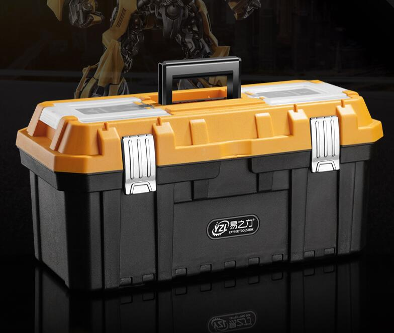 Small Durable ABS Flight Carry Case Light Weight Plastic Tool Box Tool Case
