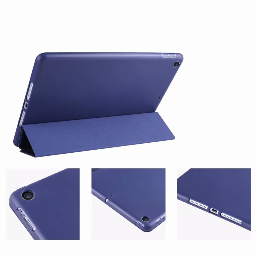 Cover Slim 10 For Case Ipad 2 iPad Soft 10.2 TPU Tri-fold Case For Tablet light Smart