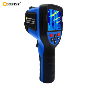Image 4 - Szybka dostawa XEAST 3.5 Cal duży ekran podczerwieni ręczna kamera termowizyjna HD obraz XE 31 160*120 / XE 32 220*160